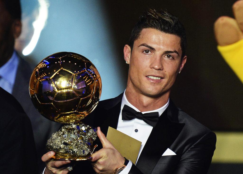 Cristiano Ronaldo, Ballon d'OR awards.