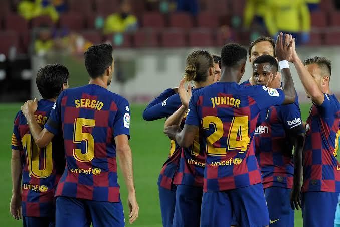 Barcelona Players vs Leganes